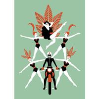 El Marques - Motorbike - Print