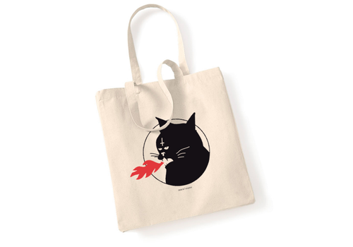Error Design Error - Meowcifer - Totebag
