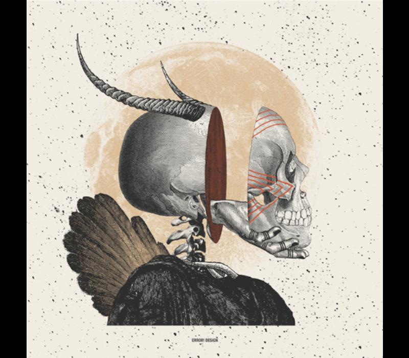 Error - Somewhere between life and death I - 13x13cm Print