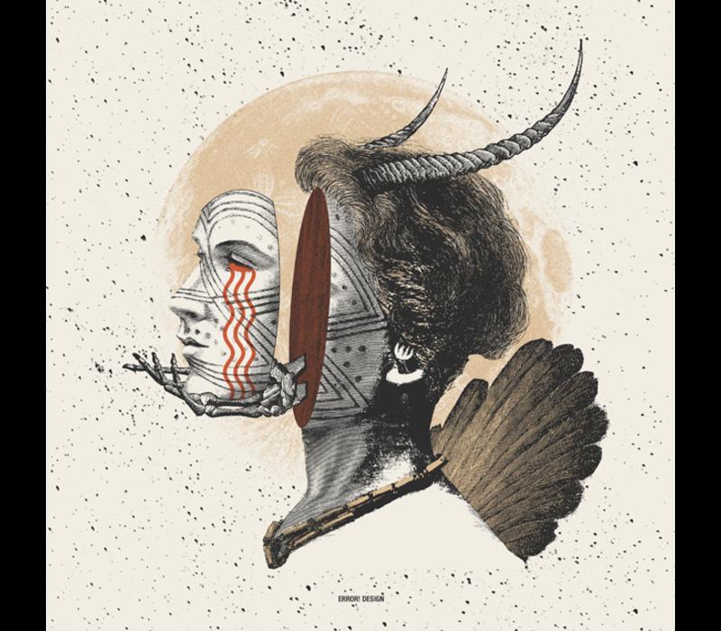 Error - Somewhere between life and death II - 13x13cm Print