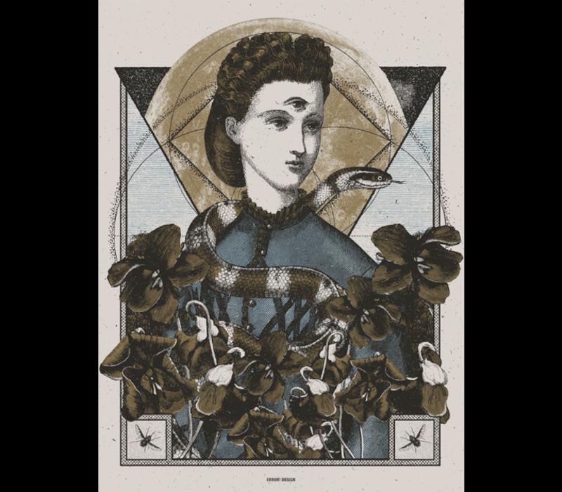 Error Design - The Contrarian - Art Print