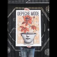 Error Design - Depeche Mode Gig Poster (Bcn & Mad)