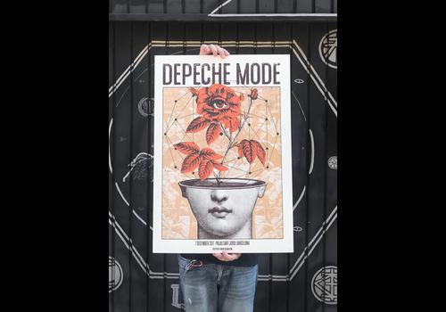 Error Design Error Design - Depeche Mode Gig Poster (Bcn & Mad)