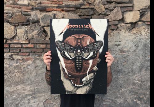 Error Design Error Design - Metallica Gig Poster