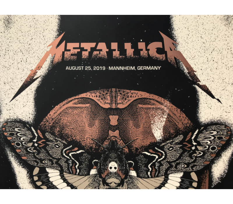 Error Design - Metallica Gig Poster