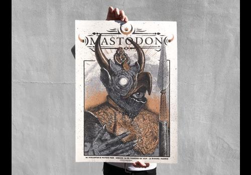 Error Design Error Design - Mastodon Gig Poster