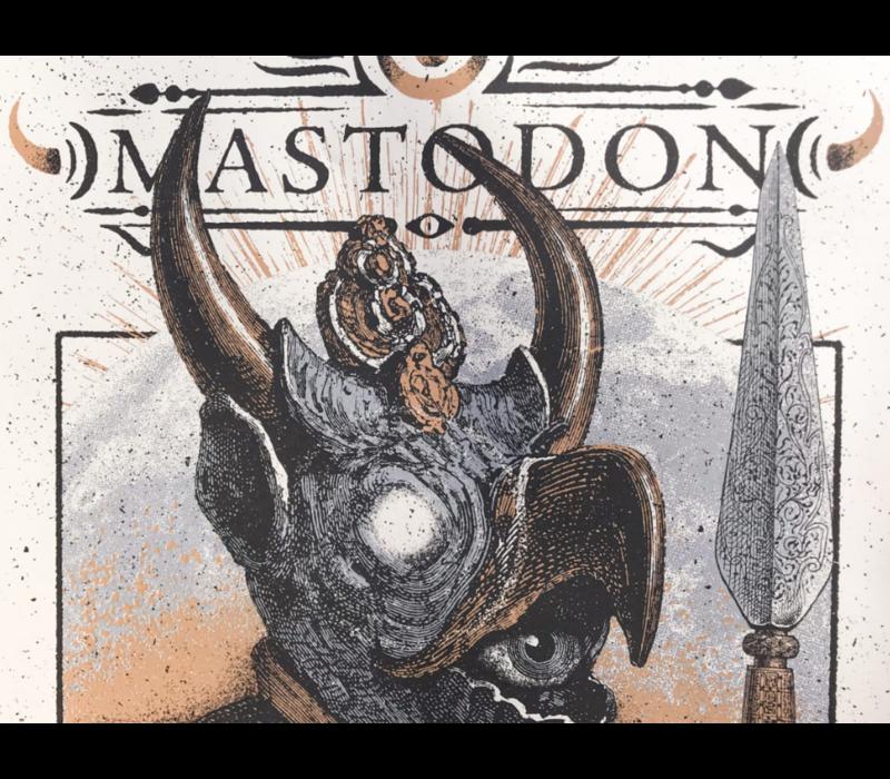 Error Design - Mastodon Gig Poster
