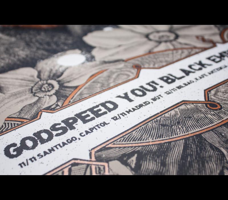 Error Design - Godspeed You! Black Emperor - Gig Poster