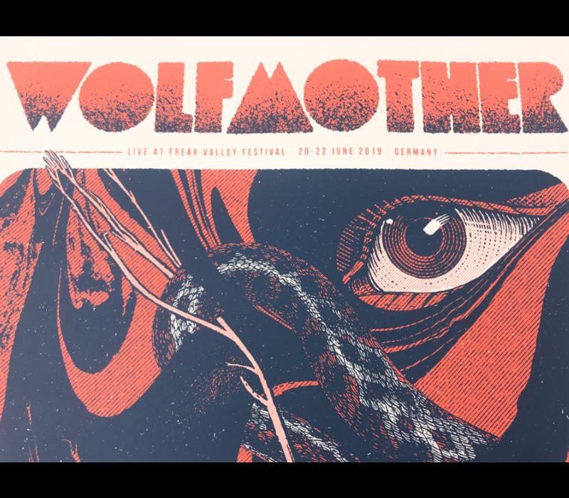 Error Design - Wolfmother - Gig Poster