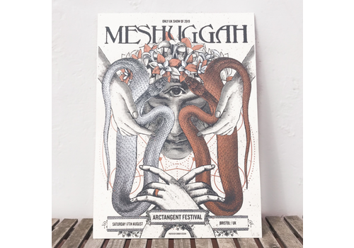 Error Design Error Design - Meshuggah - Gig Poster
