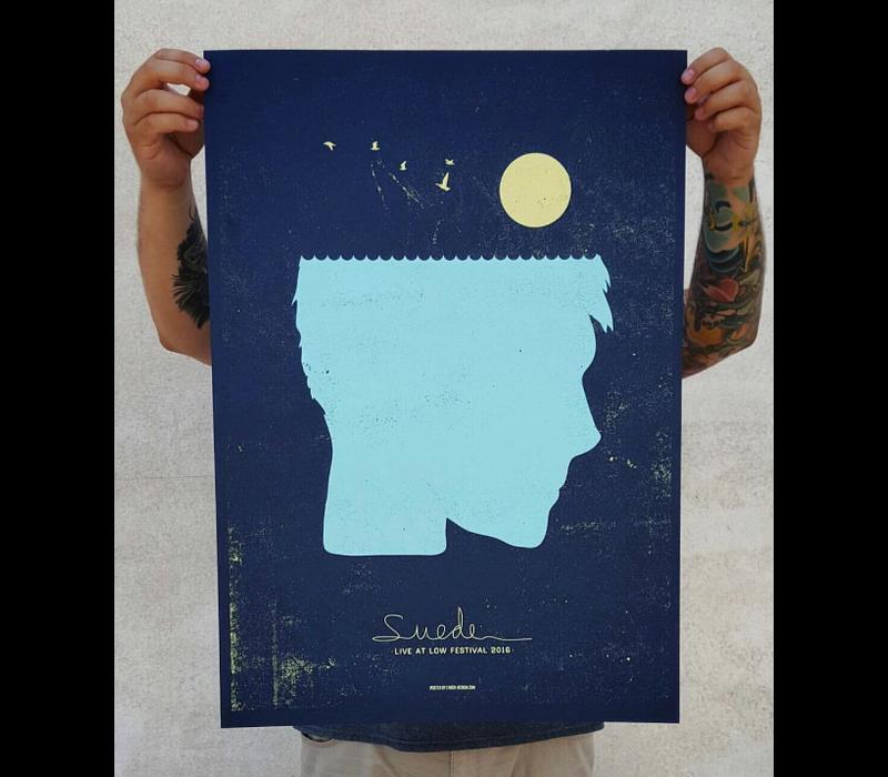 Error Design - Suede - Gig Poster