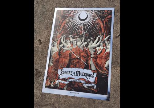 Error Design Error Design - Sangre de Muerdago - Poster de Concierto