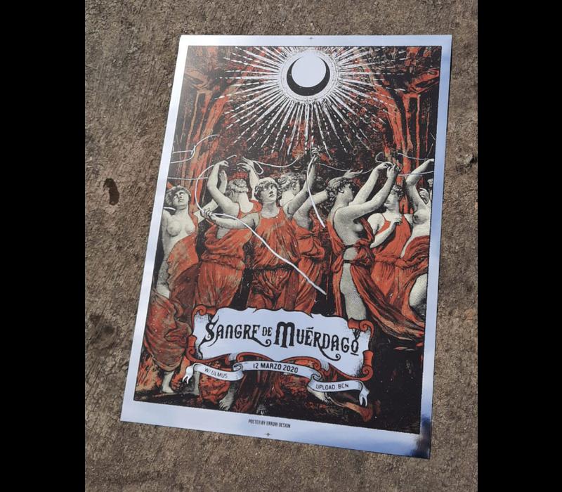 Error Design - Sangre de Muerdago - Gig Poster