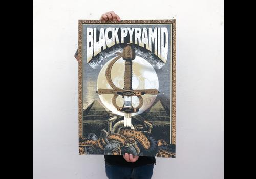 Error Design Error Design - Black Pyramid - Gig Poster
