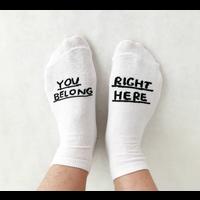 People I've Loved - You Belong Right Here - Socks