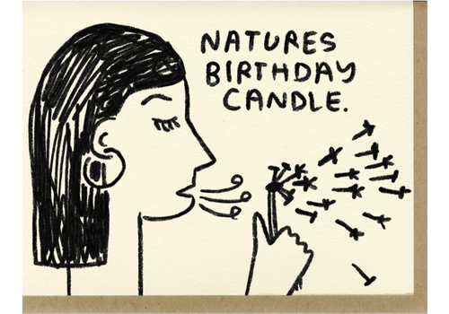 People I've Loved People I've Loved - Nature's Birthday Candle - Greeting Card