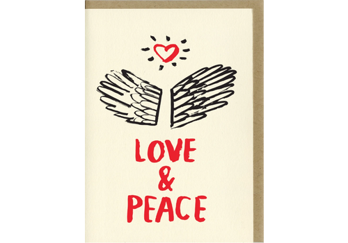 People I've Loved People I've Loved - Love and Peace - Greeting Card
