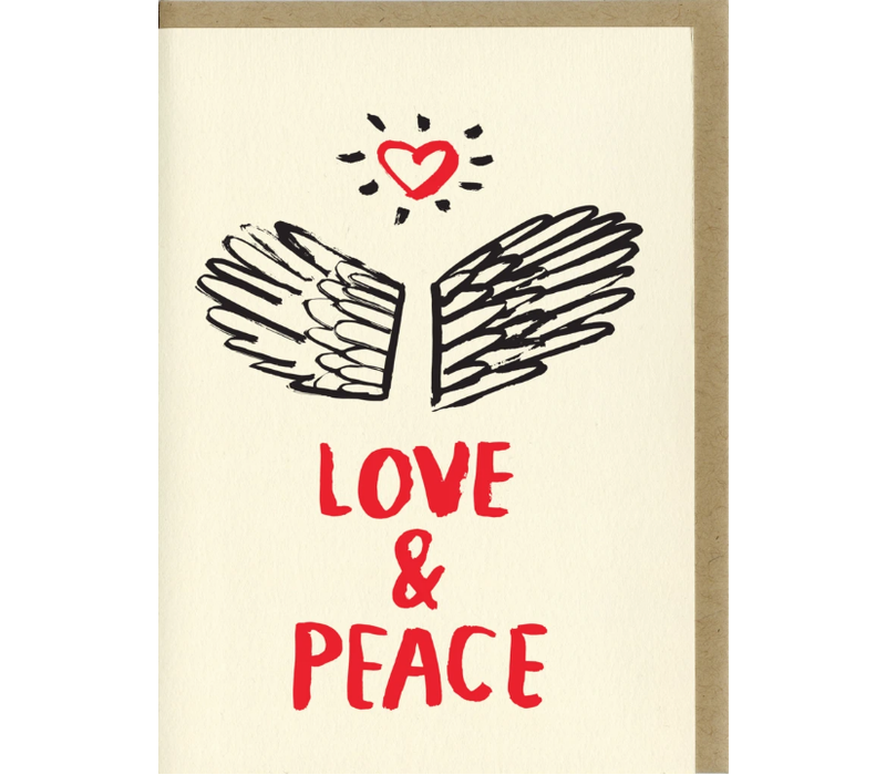 People I've Loved - Love and Peace - Greeting Card