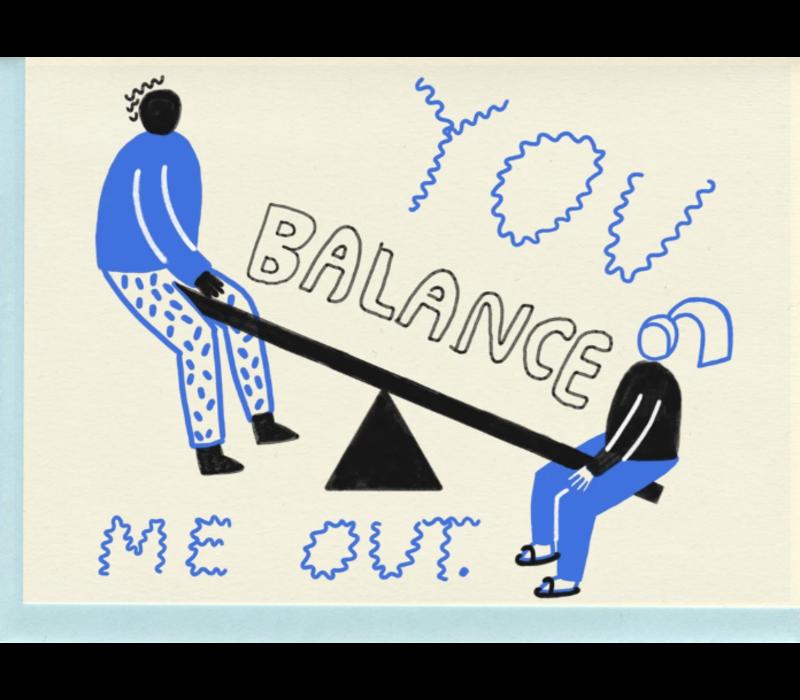 People I've Loved - Balance - Greeting Card