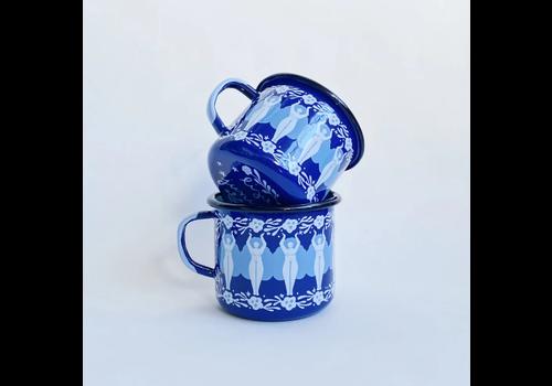Lisa Junius Lisa Junius - Folk Woman - Enamel Mug