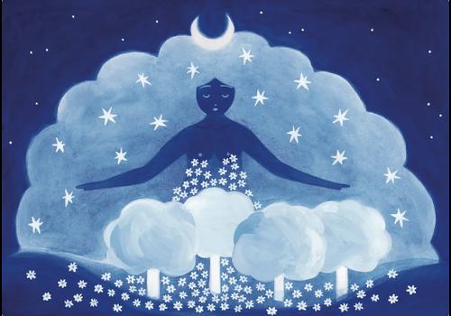 Lisa Junius Lisa Junius - Summer Night Queen - Print