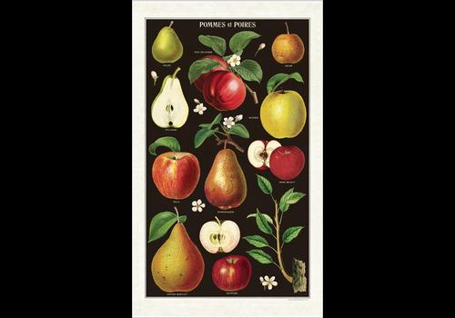 Cavallini Papers & Co Cavallini - Apples & Pears - Tea Towel