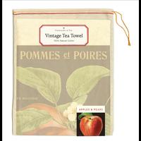Cavallini - Apples & Pears - Tea Towel