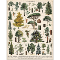Cavallini - Arboretum - 1000 Piece Puzzle