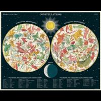 Cavallini - Constellations - 1000 Piece Puzzle