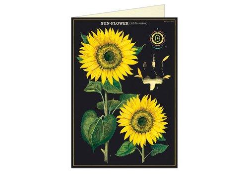Cavallini Papers & Co Cavallini - Sunflower - Greeting Card