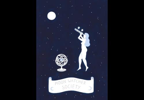 Lisa Junius Lisa Junius - Moon Watcher Society - Print