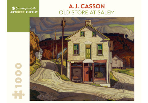 Pomegranate Pomegranate - A.J. Casson: Old Store at Salem Art Gallery of Ontario : 1000 Piece Jigsaw Puzzle