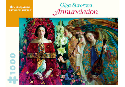 Pomegranate Pomegranate - Olga Survorova: Annunciation - 1000 Piece Jigsaw Puzzle