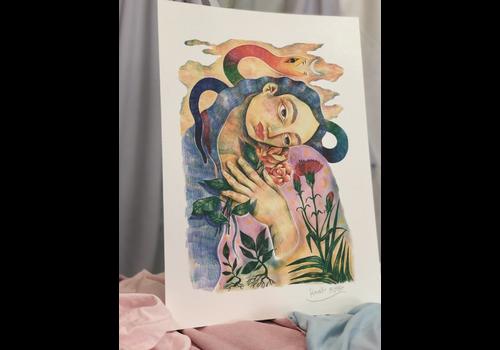 Hanako Mimiko Hanako Mimiko - Shapeshifter - A3 Print