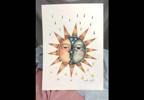 Hanako Mimiko Hanako Mimiko - Eclipse of Love - A3 Print
