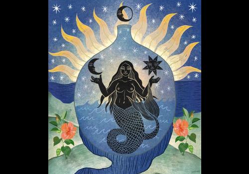 Hanako Mimiko Hanako Mimiko - Mermaid - Print