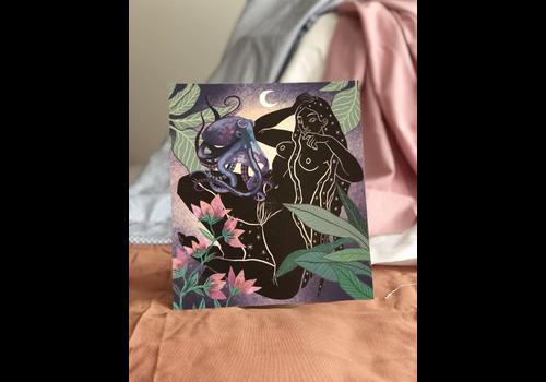 Hanako Mimiko Hanako Mimiko - Under Sea Level - Print