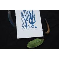 Riaq Miuq - Mirall - Xylography
