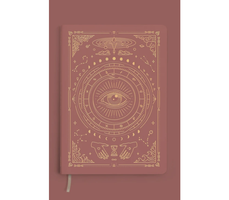 Magic of I - Vegan Leather Journal - Lined