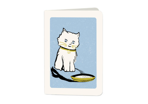Archivist Gallery Archivist Gallery - Kitch Cat - Greeting Card