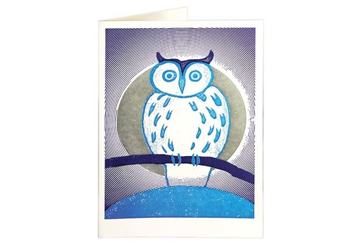 Archivist Gallery Archivist Gallery - Owl - Greeting Card