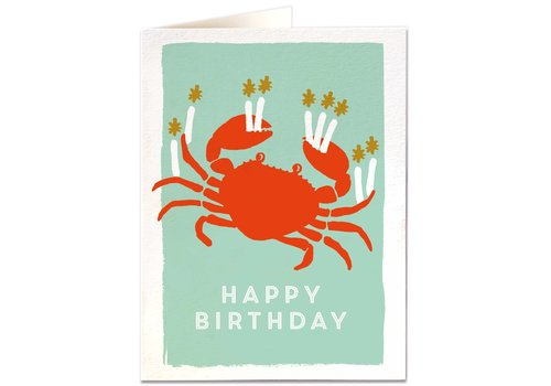 Archivist Gallery Archivist Gallery - Birthday Crab - Greeting Card
