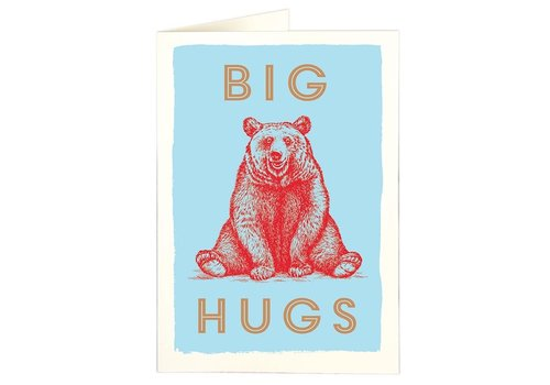 Archivist Gallery Archivist Gallery - Big Hugs - Greeting Card