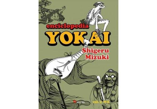 Satori Ediciones Shigeru Mizuki - Enciclopedia Yokai II - Spanish