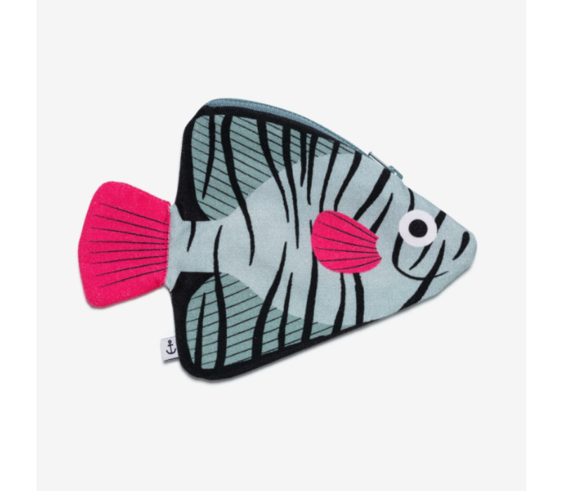 Don Fisher - Batfish Pouch - Aqua with Keychain