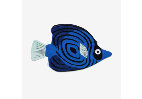 Don Fisher Don Fisher - Butterfly Fish Pouch - Blue