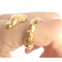 Xtellar - Dragon Ring - Gold Coated Brass