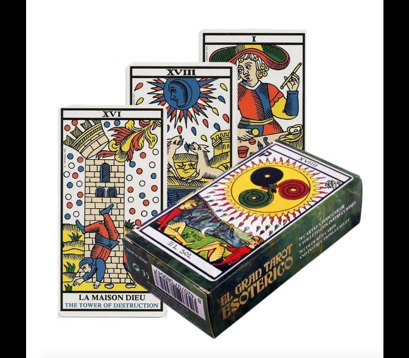 Fournier - El Gran Tarot Esotérico - Tarot Deck