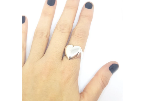 Xtellar Xtellar - Perfect Heart Ring - Silver