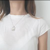 Xtellar - Saturn Necklace - Silver